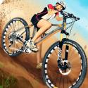 下坡山地自行车破解版(无限钞票)