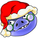 贪婪的猪圣诞版