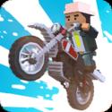 像素方块摩托车2017(无限金钱)